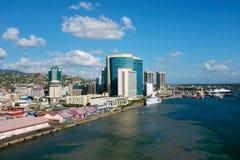 Haven - van - Spanje - Trinidad en Tobago Stock Afbeelding