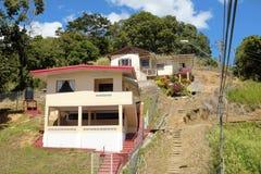 Haven - van - Spanje in Trinidad en Tobago Stock Foto's