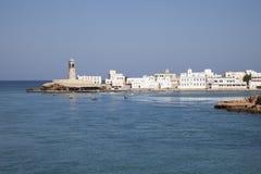 Haven van Sur, Oman Stock Foto