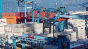 Haven van Valparaiso, Chili stock footage