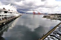 Haven van Vancouver Stock Afbeeldingen