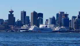 Haven van Vancouver royalty-vrije stock fotografie