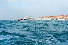 Haven van Venetië Stock Afbeelding