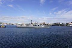 Haven van Vladivostok Primorye Rusland Stock Foto's