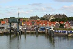 Haven van Vlieland Royalty-vrije Stock Afbeeldingen