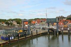 Haven van Vlieland Stock Foto's