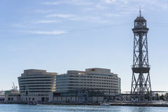 Haven Vell, Barcelona Royalty-vrije Stock Afbeeldingen