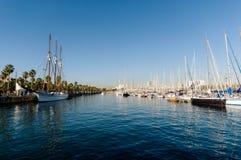 Haven Vell, Barcelona stock afbeelding
