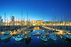 Haven Vell, Barcelona - Spanje Stock Afbeelding