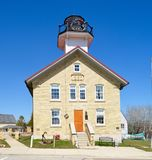 Haven Washington Lighthouse Stock Fotografie