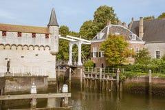 Haveningang van Zierikzee royalty-vrije stock foto's