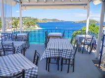 Havenrestaurant Royalty-vrije Stock Foto