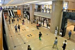 Havenstad, Hong Kong royalty-vrije stock afbeeldingen