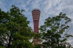 Haventoren in Kobe stock afbeeldingen