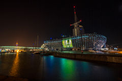The Havenwelten in Bremerhaven Royalty Free Stock Photography
