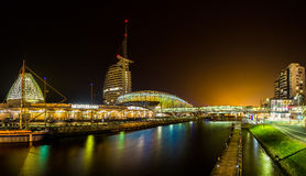 The Havenwelten in Bremerhaven Stock Images