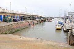 Havenworkshops, Bridlington, Yorkshire, het UK Royalty-vrije Stock Fotografie