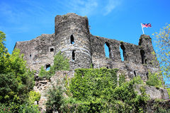 Haverfordwest Castle Royalty Free Stock Photos