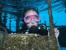 haveri för dykningscubalokal fotografering för bildbyråer