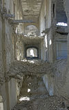 Haveri inom Darul Aman Palace, Afghanistan Royaltyfri Fotografi