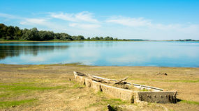 Haveri på sjön Royaltyfria Foton