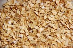 Havermeelclose-up het vrije concept gluten stock foto