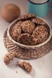 Havermeelkoekjes Stock Afbeeldingen