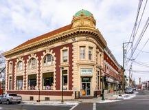 Haverstraw, Estados Unidos de NY/- 21 de janeiro de 2019: Main Street Haverstraw fotos de stock royalty free