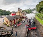 Haverthwaite-Station 5622 Lizenzfreie Stockfotos
