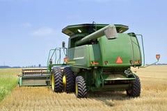 Havesting Weizen in Toledo Stockfotos