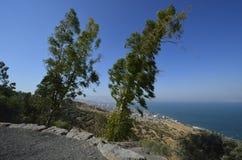 Havet av Galilee och Tiberias Royaltyfria Bilder