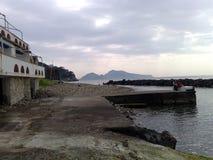 Havet av Massalubrense Fotografering för Bildbyråer