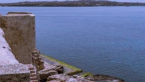 Havet av Siracusa - Italien Fotografering för Bildbyråer