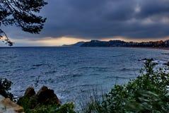 Havet för stormen Royaltyfria Foton