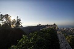 Havet från mausoleet av Ciano Royaltyfria Foton