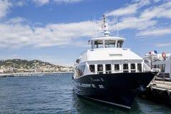 Havet går i Cannes Fotografering för Bildbyråer
