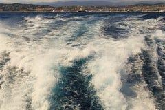 Havet går i Cannes Arkivfoton