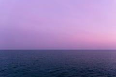 Havet i Santa Cruz California Royaltyfri Foto