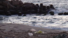 Havet i sommaren royaltyfri foto