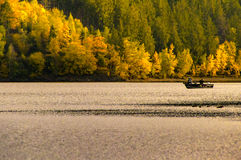 Havet i Thüringen på hösten Arkivbilder