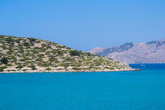Havet landskap Royaltyfri Bild