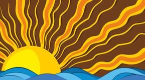 Havet landskap Royaltyfria Bilder