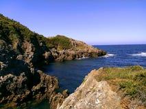 Havet landskap Royaltyfria Foton