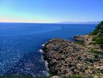Havet landskap Fotografering för Bildbyråer