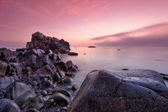 Havet och vaggar Royaltyfri Foto