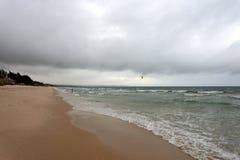 Havet på kusten av Vietnam Arkivfoton