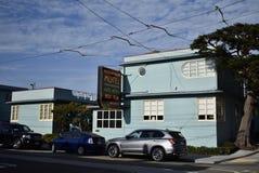 Havet parkerar motellet, det äldsta motellet för San Francisco ` s royaltyfri foto