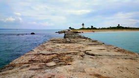 Havet tränger igenom Arkivfoton