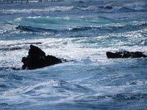 Havet vaggar royaltyfri fotografi