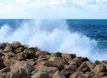 Havet vaggar arkivbild